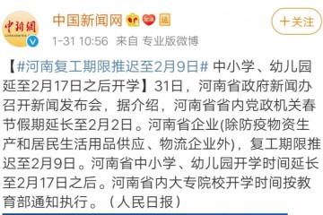 河南中小学延至2月17日之后开学学生怎样在家自学